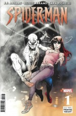 Spider-Man (2019-2021) #1 Variant J: Incentive Premiere Cover