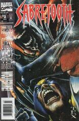 Sabretooth (1993) #3 Variant A: Newsstand Edition