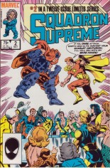 Squadron Supreme (1985-1986) #2 Variant B: Direct Edition