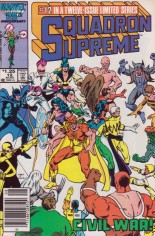 Squadron Supreme (1985-1986) #12 Variant A: Newsstand Edition