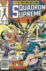Squadron Supreme (1985-1986) #10 Variant A: Newsstand Edition