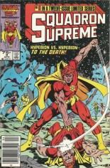 Squadron Supreme (1985-1986) #8 Variant A: Newsstand Edition