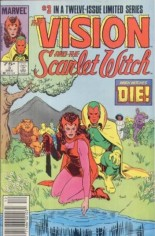 Vision and the Scarlet Witch (1985-1986) #3 Variant A: Newsstand Edition