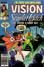 Vision and the Scarlet Witch (1985-1986) #4 Variant A: Newsstand Edition