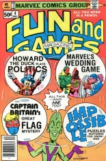 Marvel Fun and Games (1979-1980) #4 Variant A: Newsstand Edition