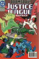 Justice League America (1989-1996) #69 Variant A: Newsstand Edition