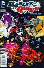 Harley Quinn (2013-2016)  #14 Variant B: The Flash 75th Anniversary Cover