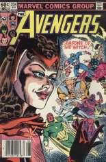 Avengers (1963-1996) #234 Variant A: Newsstand Edition