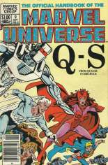 Official Handbook of the Marvel Universe (1983-1984) #9 Variant A: Newsstand Edition