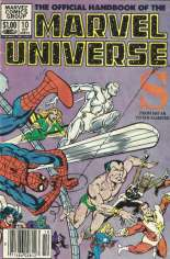 Official Handbook of the Marvel Universe (1983-1984) #10 Variant A: Newsstand Edition