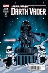 Star Wars: Darth Vader (2015-2016) #1 Variant B: Baby Cover