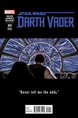 Star Wars: Darth Vader (2015-2016) #1 Variant E: Teaser Cover