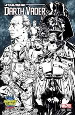 Star Wars: Darth Vader (2015-2016) #1 Variant N: Midtown Comics Exclusive Sketch Cover