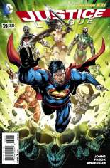 Justice League (2011-2016) #39 Variant A