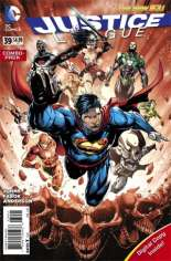 Justice League (2011-2016) #39 Variant D: Combo Pack; Polybagged