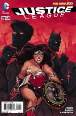 Justice League (2011-2016) #39 Variant C: Incentive Cover