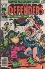 Defenders (1972-1986) #45 Variant B: UK Edition