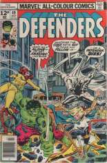 Defenders (1972-1986) #49 Variant C: UK Edition