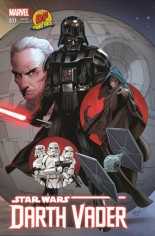 Star Wars: Darth Vader (2015-2016) #1 Variant I: DF Exclusive