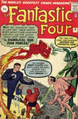 Fantastic Four (1961-1996) #6 Variant B: UK Edition; Note: 9d = 9/240 GBP