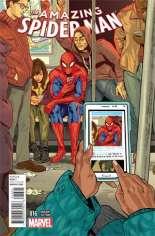 Amazing Spider-Man (2014-2015) #16 Variant B: Women of Marvel Cover