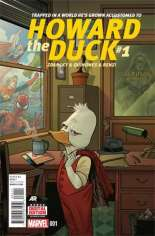 Howard the Duck (2015) #1 Variant A