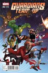Guardians Team-Up (2015-Present) #2 Variant B: Incentive Cover