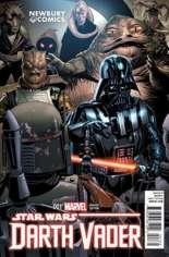 Star Wars: Darth Vader (2015-2016) #1 Variant V: Newbury Comics Exclusive