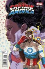 All-New Captain America (2015) #5 Variant B: Women of Marvel Cover