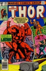 Thor (1966-1996) #302 Variant A: Newsstand Edition
