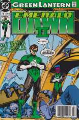 Green Lantern: Emerald Dawn II (1991) #2 Variant A: Newsstand Edition