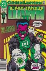 Green Lantern: Emerald Dawn II (1991) #3 Variant A: Newsstand Edition