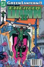 Green Lantern: Emerald Dawn II (1991) #4 Variant A: Newsstand Edition
