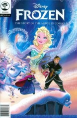 Frozen (2015) #1 Variant B: 2nd Printing