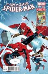 Amazing Spider-Man (2014-2015) #17 Variant B: Avengers Cover