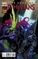 Uncanny Inhumans (2015-Present) #0 Variant C: Inhumans 50th Anniversary Cover