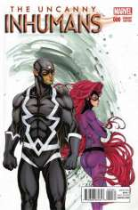 Uncanny Inhumans (2015-Present) #0 Variant F: Incentive Cover