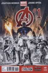 Avengers (2012-2015) #1 Variant E: Personalized Retailer Exclusive; Limited to 1 Per Store