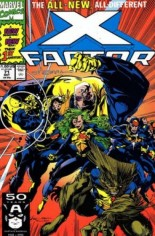 X-Factor (1986-1998) #71 Variant D: Signed by Larry Stroman; Limited to 10,000 Copies w/ COA