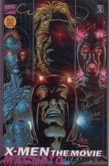 X-Men: The Movie Prequel - Magneto (2000) #1 Variant H: DF Signed Edition; Signed by Mark Texeira and Joe Pruett; Limited to 5000 Copies w/ COA