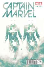 Captain Marvel (2014-2016) #14 Variant B: Cosmically Enhanced Cover