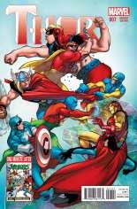 Thor (2014-2015) #7 Variant B: Avengers Cover