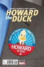 Howard the Duck (2015) #2 Variant B: Vote Howard Cover