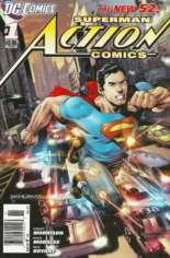 Action Comics (2011-2016) #1 Variant A: Newsstand Edition