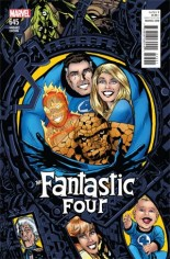 Fantastic Four (2014-2015) #645 Variant C: Connecting Cover