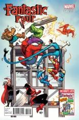 Fantastic Four (2014-2015) #645 Variant D: Avengers Cover
