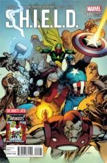 S.H.I.E.L.D. (2015-2016) #5 Variant B: Avengers Cover
