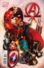 New Avengers (2013-2015) #33 Variant C: Incentive Cover