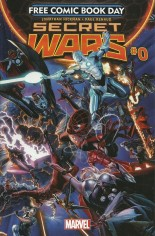 Secret Wars (2015-2016) #0 Variant A: Free Comic Book Day 2015