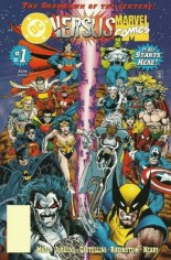 DC Versus Marvel (1996) #1 Variant C: 2nd Printing; Blank UPC Cover